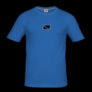 Tritons Beyond Dark Snapper Shirt Blau