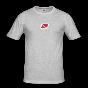 Tritons Light Snapper Shirt Graumeliert