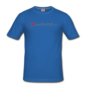 Tritons Dark Barracuda T-Shirt Blau