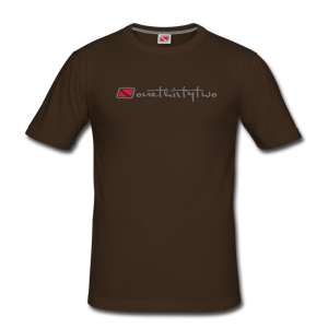 Tritons Dark Barracuda T-Shirt Dunkelbraun