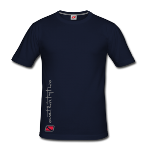 Tritons Dark Whitetip Shirt Dunkelblau