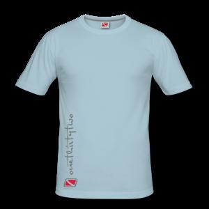 Tritons Dark Whitetip Shirt Hellblau